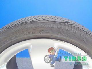 "4 Rims Mercedes Benz 17X8J Used Tires Continental 225 45 17 17x8 Wheels 17"""