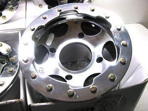 4 ATV Rims Wheels Set ITP C 7 Beadlock Polaris Sportsman 4 156 12x7 Front Rear