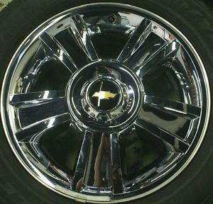 Chevy Silverado Tahoe Suburban Avalanche LTZ Chrome 20 Wheels Rims Tires