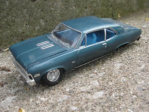 '69 Chevy Nova 1969 Vintage Built Project Parts Diorama