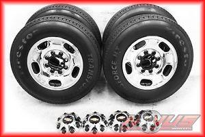 """17"""" Chevy Silverado Sierra 2500 8 Lug Wheels Firestone Tires 2011 18 20"""