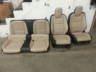 2010 2013 Camaro SS Leather Seats Coupe Take Outs Set Front Rears Power