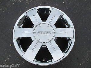 "19"" GMC Terrain Factory Original Chrome Clad Wheel Rim 5510 072301"