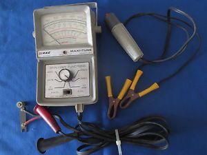 Vintage Rac Maxi Tune Ignition Analyzer Dwell Tach Tachometer Meter Starter