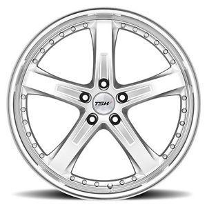 "18"" TSW Jarama Chrome Wheels Rims Fit Mercedes C230 C280 C350 C55 AMG W203"