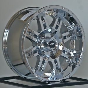 17 inch Chrome Wheels Rims Chevy Silverado 1500 Truck Tahoe GMC Sierra Yukon 6 L