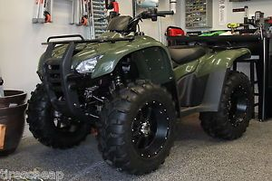 """14"""" Honda Rancher SS108 Blk Wide Set All 14x8 Aluminum ATV Wheels New Set 4"""