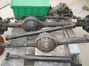 1956 thru 1959 Chevrolet GMC Napco 4x4 Parts