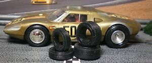 1 32 Urethane Slot Car Tires 2pr Fit Vintage Monogram Porsche 904