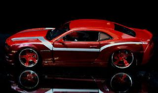 2010 Chevrolet Camaro SS RS Maisto Custom Shop Diecast 1 24 Scale Red Wine