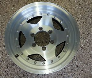 Four Used 16 inch American Racing Rims