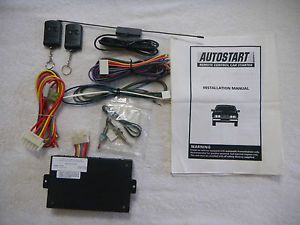 Auto Start Model AS1200 Remote Control Car Starter w Manual New 3422