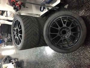 CCW C14 Complete Custom Wheels Race Rims for C6 Corvette Z06