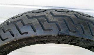 "Dunlop Harley Davidson Front Tire D402F 130 70 18 Flat Track ""Used"""