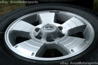 "2013 Toyota Tacoma Factory 17"" TRD Wheels Tires Land Cruiser 4Runner Tundra"