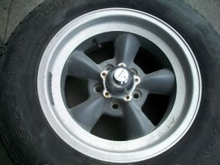 DP20446 Ford Mustang American Racing Tires Rims Wheel Set 1969