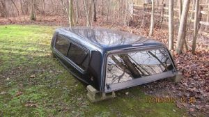 Leer Fiberglass Truck Cap 8 Foot Can Fit Chevy Silverado