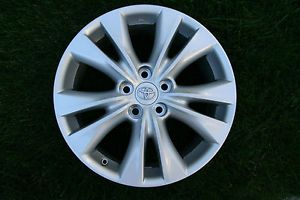 """18"""" 2013 Toyota RAV4 Limited OE Silver Alloy Wheels 4 Rims Fits Others"""