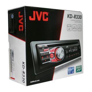 New JVC KD R330 Car Stereo CD MP3 Player Receiver Head Unit iPod iPhone Radio 046838047831