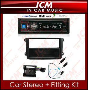 CDE 136BT VW Caddy Alpine DAB Radio CD Player Aux WMA MP3 USB iPod Car Stereo