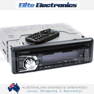 Kenwood KDC U449 Car Audio Radio CD MP3 USB iPod Player