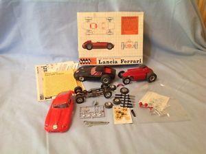 1 32 Slot Car Race Ferrari Jaguar Strombecker Hawk Lancia Lot Parts Wheels