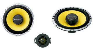 Pioneer TS Q171C Separate 2 Way Custom Car Speakers System for Citroen Peugeot