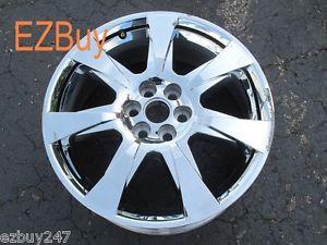 "20"" Cadillac SRX 2010 2013 Factory Chrome Clad Wheel Rim 4666 061701"