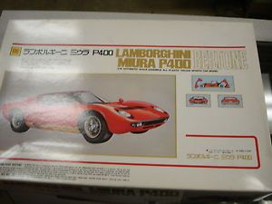Otaki 1 16 Lamborghini Miura P400 Mint Vintage with Electric Motor Parts SEALED
