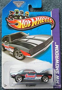2013 Hot Wheels Super Treasure Hunt Summit Racing 1967 Camaro