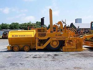 Blaw Knox PF3172 PF3200 Parts Manual Volvo Paver Asphalt Paver Parts Manual