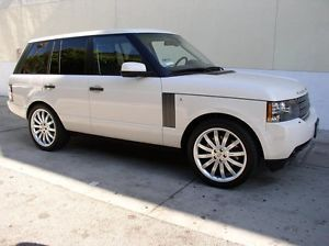 """22"""" Silver Wheels Tires Packages Fit Land Range Rover LR3 Sport HSE 2002 2012"""