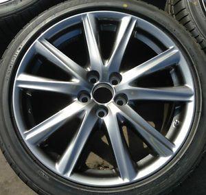 "19"" 2011 2012 2013 GS350F F Sport Lexus Factory Wheels Rims Tires TPMS"