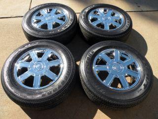 "18"" Cadillac Escalade Wheels Chevrolet Tahoe Suburban Sierra GMC Tires"