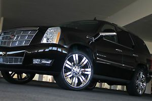 24 Wheels Rims Fit Cadillac Escalade Tahoe Chrome Finish 2007 2009 2010 2012