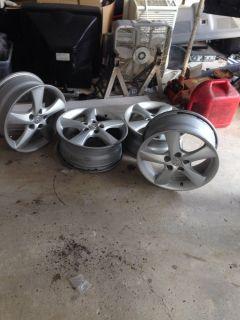 "Mazda 6 17"" Set of 4 Factory Alloy Wheels Rims"