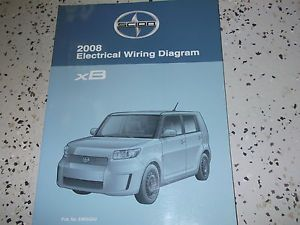 2008 Toyota Scion XB XB Electrical Wiring Diagram Service Shop Repair Manual
