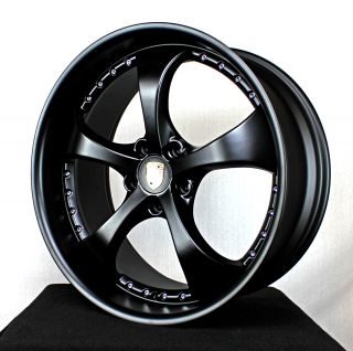 "Porsche Cayenne 22"" Wheels GTS Turbo s 955 957 2013 Techart Color Matte Black"
