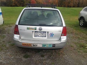 2004 VW Jetta TDI Wagon 5 Speed Manual Clear Title for Salvage for Parts