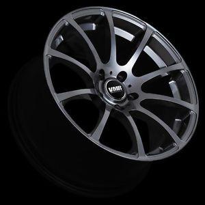 "VMR 19"" inch V701 Wheels Gunmetal Volkswagen VW GTI Passat Jetta Golf CC EOS"