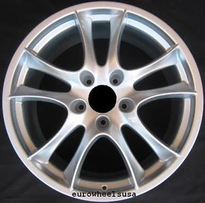 "22"" Wheels for Porsche Cayenne Turbo VW Touareg Alloy Rims Set GTS Style Silver"