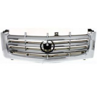 New Grille Assembly Chrome Cadillac Escalade 2002 2006 2005 2004 2003