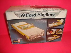 1 25 Scale Model Car Parts Revell 1959 Ford Retractable Parts Kit