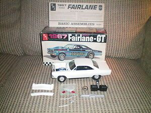 "Vintage AMT 1967 Ford Fairlane GT ""Desperato"" Parts Builder"