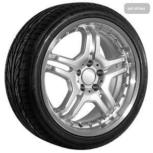 "18"" inch Mercedes Benz C CL CLK AMG Wheels Rims CLS E GL GLK ml s SL SLK Tires"