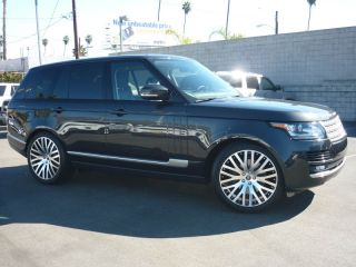 """22"""" inch Wheels Tires Package Rims Range Rover Sport LR3 LR4 HSE Supercharged"""