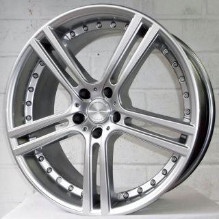 "18"" Audi A3 03 2005 Hatchback Team Dynamics Le Mans Sil Wheels Tyres 5x112"