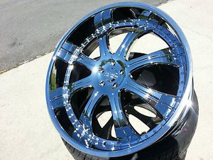 28 inch Starr Rims Wheels and Tires Donk Jeep Chevy Pontiac Buick Oldsmobile GMC