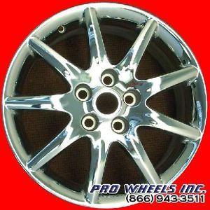 """Buick Lucerne 17x7"""" Chrome Factory Original Wheel Rim 4018 44304"""