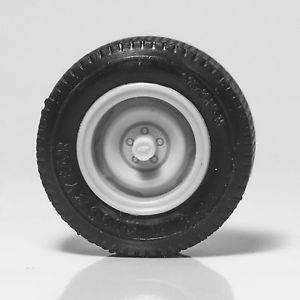 TW3 Resin Set of 4 Chevy Chevrolet Pickup Truck C1500 Steel Wheels